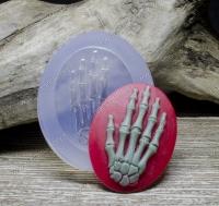 Молд силиконовый камея Анатомия (рука) 40х30х5 мм (1 шт)